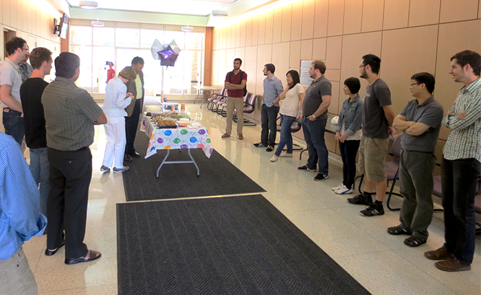 VPD birthday - Cook Hall lobby